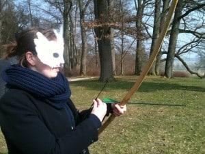 Vertrauensübung mit Blindschießen